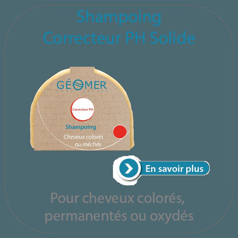 shampoing correcteur pH solide