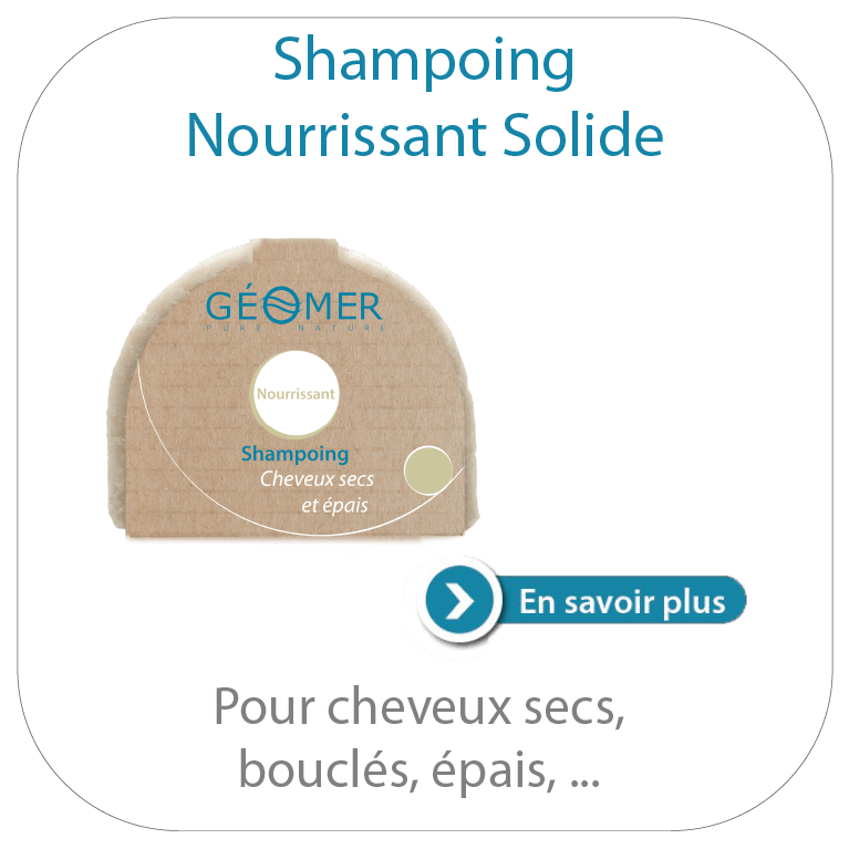 Shampoing nourrissant solide